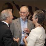 Chris King, Bob McPherson, and Deanna Schexnayder, Ray Marshall Center 40th Anniversary Celebration, October 2010